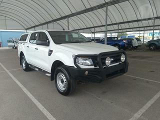 2015 Ford Ranger PX XL 4D Dual Cab Utility (QFleet) Photo