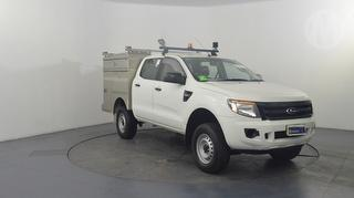 2012 Ford Ranger PX XL 4D Dual Cab Chassis Photo