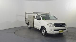 2011 Toyota Hilux 150 SR 2D Cab Chassis Photo