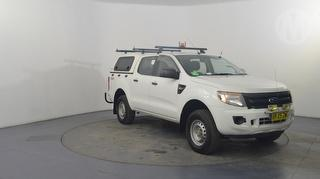 2012 Ford Ranger PX XL 4D Dual Cab Utility Photo