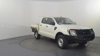 2015 Ford Ranger PX XL 4D Dual Cab Chassis Photo