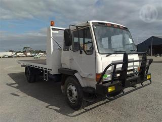 1990 Mitsubishi Fighter FK457K Tow truck (Tilt/Slide) Photo