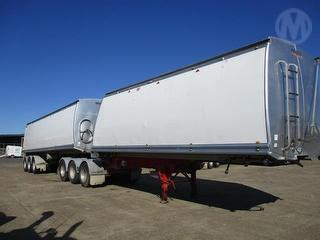 2008 Byford LSG Rollback Tipping Trailer Combo With Lot 216 ATM 38,000kg Photo