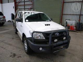 2011 Toyota Hilux 150 SR 2D X-cab Chassis Photo