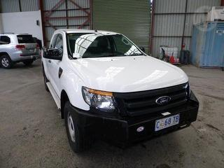 2012 Ford Ranger PX XL 4D X-cab Chassis Photo