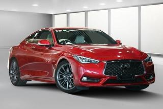 2017 Infiniti Q60 Red Sport 2D Coupé Photo