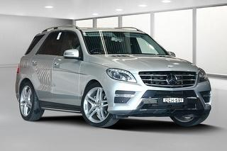 2014 Mercedes-Benz ML 350 BlueTEC 5D S/Wagon Photo