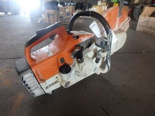 Stihl Quick CUT Saw TS400 Concrete (Demolition saw) Running Well Photo