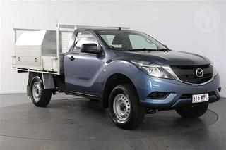 2015 Mazda BT-50 XT 2D Cab Chassis Photo