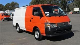 2002 Toyota Hiace Van **sold Without # Plates** GVM 2,800kg Photo