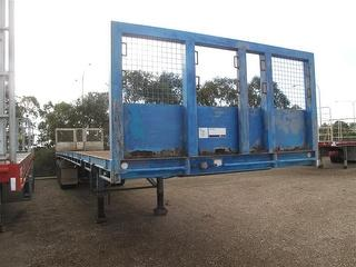1998 Freighter ST3 Flat Top Trailer ATM 35,000kg Photo
