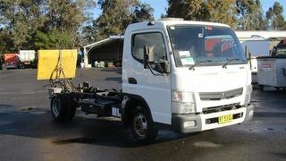 2012 Fuso Canter 515 Cab Chassis *unregistered,no plates* GVM 4,500kg Photo
