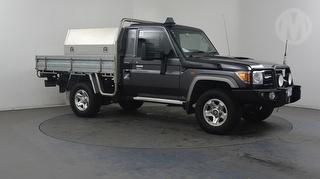 2012 Toyota Landcruiser 76/78/79 Series GXL 2D Cab Chassis Photo