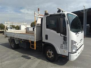 2011 Isuzu NPR300 Medium Tipper GCM 11,000kg Photo