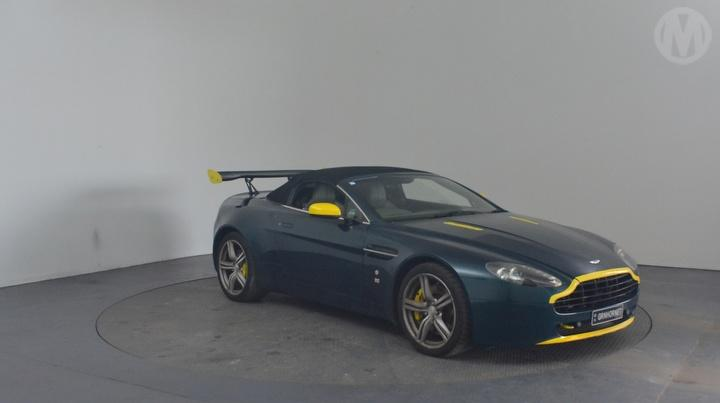 Used Aston Martin V Vantage D Cabriolet For Auction In Perth - Salvage aston martin for sale