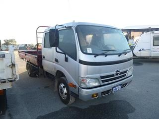 2009 Hino 300 Tray Concessional License Upgrade To Be Paid By Purchaser Direct To Licensing GCM 10,0 Photo