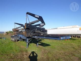 2009 Hammar Triaxle Side Lifter Container side loader ATM 43,000kg Photo