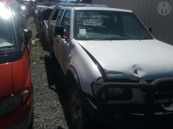 Damaged 2001 Holden Rodeo TFG6 LX Cab Chassis For
