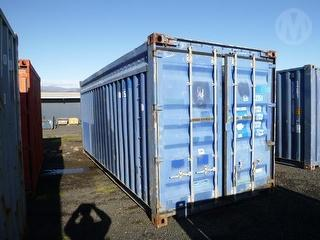Custom 20ft Roofless Container Photo