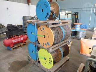 Assorted Cable Reels Photo