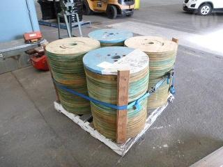 Assorted Cable Reel Parts Photo