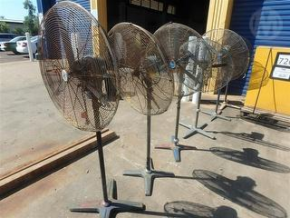 Industrial Pedestal Fans (sold Seperately) Miscellaneous Photo
