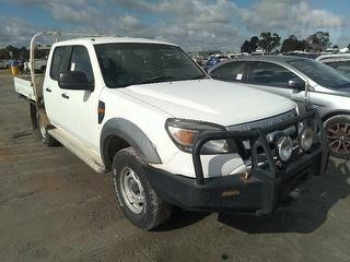 2009 Ford Ranger PK XL Dual Cab Chassis Photo