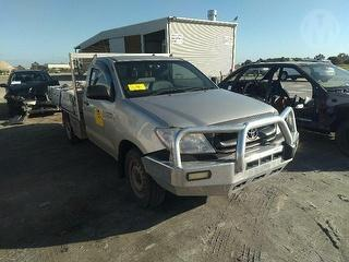 2008 Toyota Hilux 150 Workmate Cab Chassis Photo