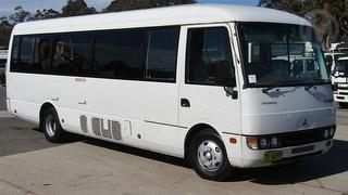 2005 Mitsubishi Rosa Bus **Sold Without # Plates** GVM 6,185kg Photo