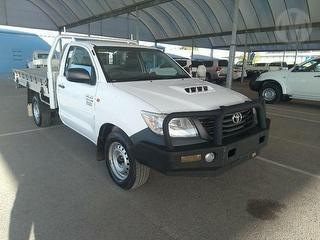 2012 Toyota Hilux 150 Workmate 2D Cab Chassis Photo