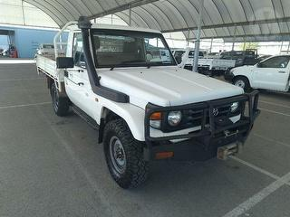 2006 Toyota Landcruiser 76/78/79 Series 2D Cab Chassis Photo