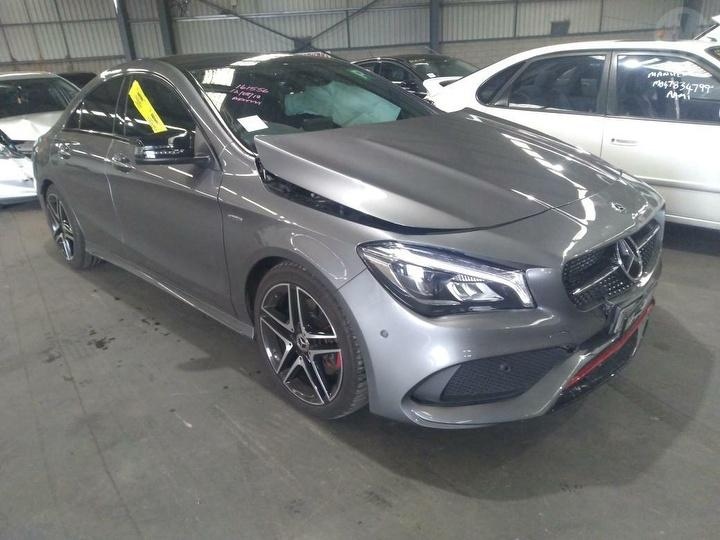 2017 Mercedes Benz Cla 250 Sport Coupe Used Car For Sale Manheim