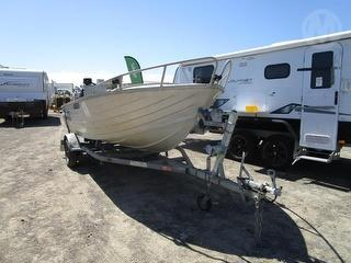 Unknown 4.9 Side Console Boat (Dinghy) Sold With Trailer 6K9BOATRLCN080201 Photo