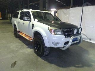 2009 Ford Ranger PK Wildtrack 4D Dual Cab Utility + Canopy Photo