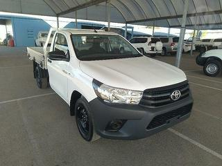 2018 Toyota Hilux TGN121R Workmate 2D Cab Chassis Photo