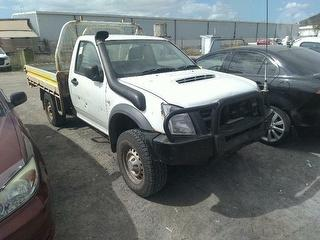 2010 Isuzu D-Max 4x4 EX Cab Chassis Photo
