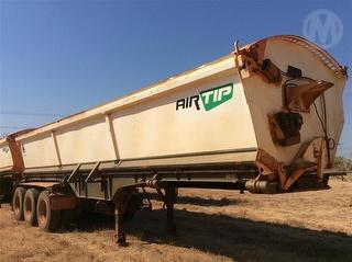 2013 Arends Trailers ST3 Side Tipping Trailer Located Offsite ATM 41,000kg Photo