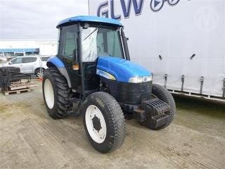 2005 New Holland TD70D Tractor Photo