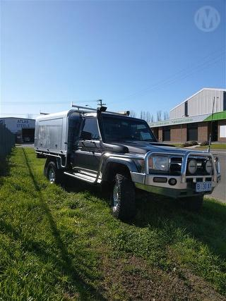 2009 Toyota Landcruiser 76/78/79 Series GXL 2D Cab Chassis Photo
