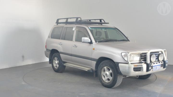 Used 2003 Toyota Landcruiser 100 Gxl 5d 4wd For Auction In Perth Int