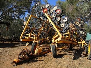 Multi Farming Systems Multi Planter Air Seeder Bar Photo
