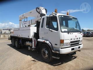2007 Fuso FN600 Fighter EWP (Truck Mounted) GCM 28,500kg Photo