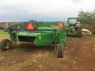 2017 John Deere 946-4.0M ROT Mower Conditioner Attachment Located TWMBA QLD Photo