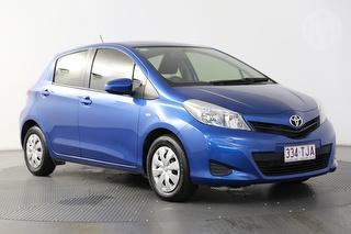 2013 Toyota Yaris NCP YR 5D Hatch Photo