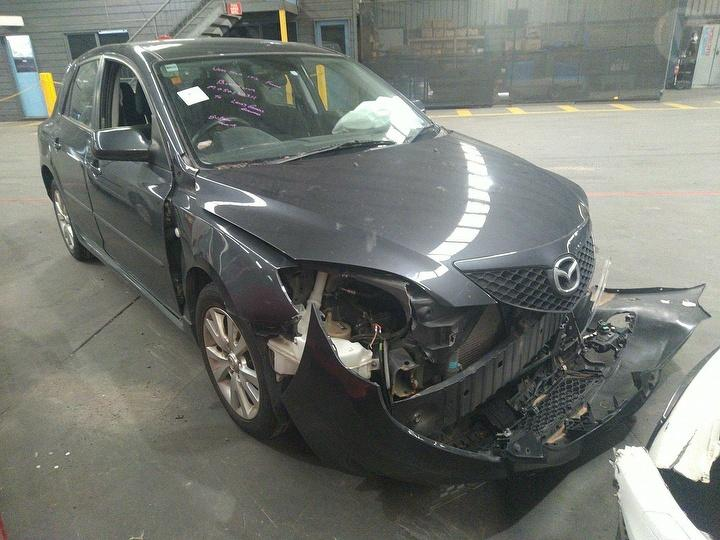 Damaged 2007 Mazda 3 Maxx Sport Hatch For Auction in Moorebank