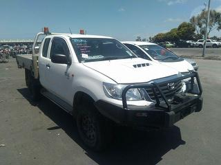 2015 Toyota Hilux 150 SR Cab Chassis Photo