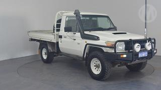 2011 Toyota Landcruiser 76/78/79 Series Workmate 2D Cab Chassis Photo