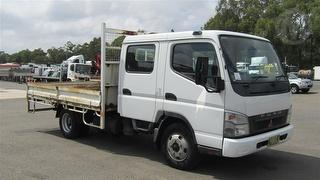 2007 Fuso Canter 3.5T Tray GVM 6,500kg Photo
