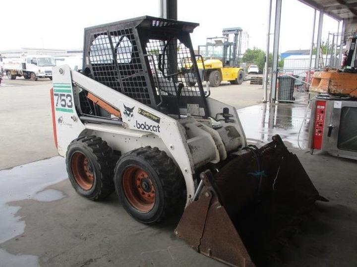 1999 Bobcat 753 Loader Skid Steer Used Car For Sale Manheim
