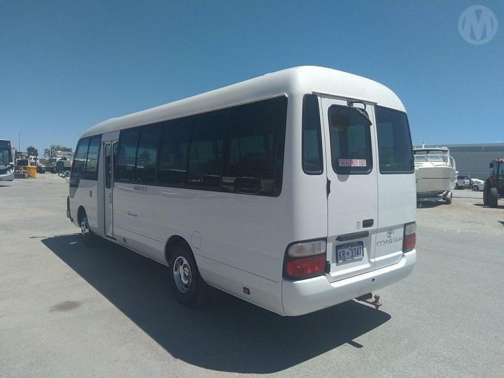 Used 2012 Toyota Coaster Bus Gvm 4 990kg For Auction In